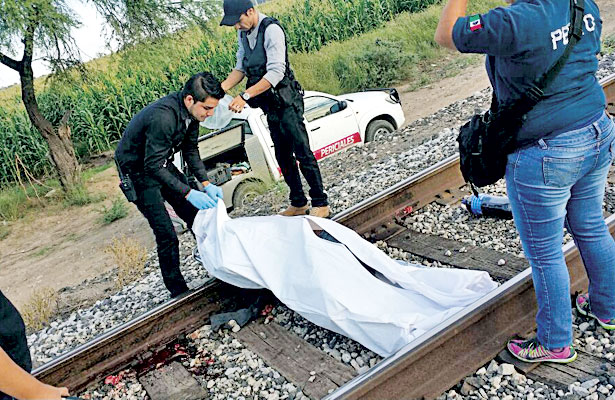 Otro masacrado por el tren en Gómez P