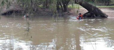 Encuentran cuerpo de hombre ahogado  en el Río Tunal