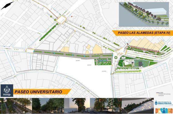 Se suspende momentáneamente la construcción del Paseo Universitario
