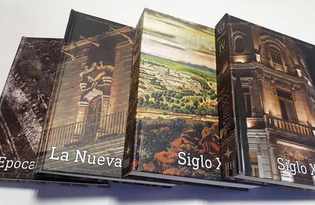 Se trata de cuatro tomos en los que participan más de 50 autores.