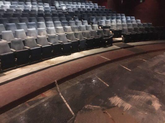 Con afectaciones menores en el teatro Alberto M. Alvarado de G.P.