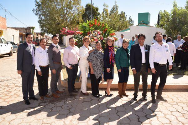Celebran el 394 aniversario de la ciudad de Canatlán