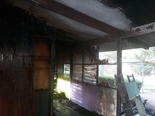 Se incendia Jardín de niños en la colonia Insurgentes