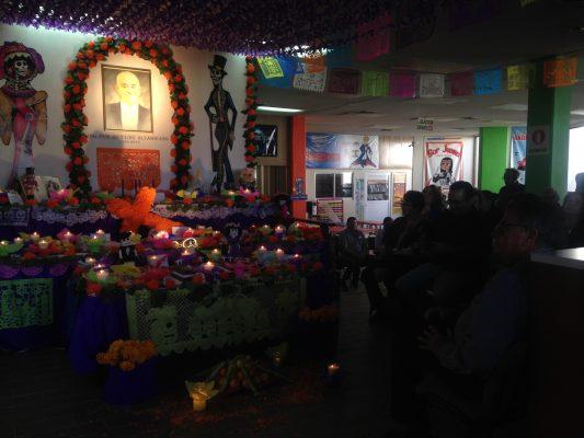 Altar en honor de Federico Ling Altamirano