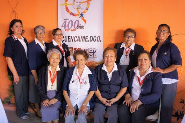 CUENCAMÉ, Dgo.- (OEM).- Damas vicentinas en aniversario de San Vicente de Paul, quienes para celebrar prepararon varios eventos. ¡Felicidades!