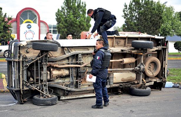 Alarmante aumento de lesionados por accidentes viales