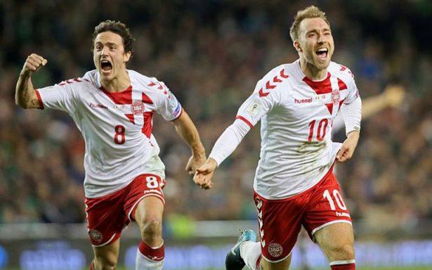 Dinamarca golea a Irlanda y saca boleto para Mundial Rusia 2018
