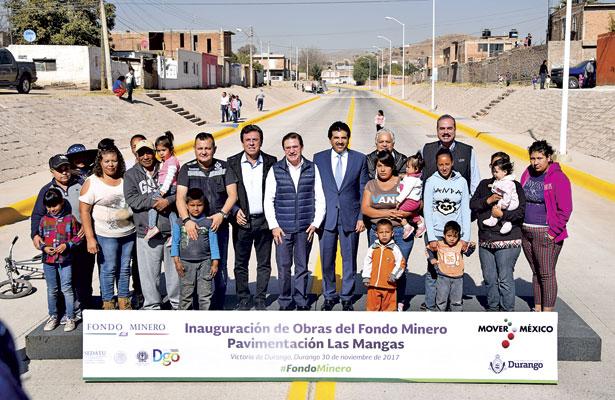 Tendrá Durango 205 mdp del Fondo Minero: Aispuro