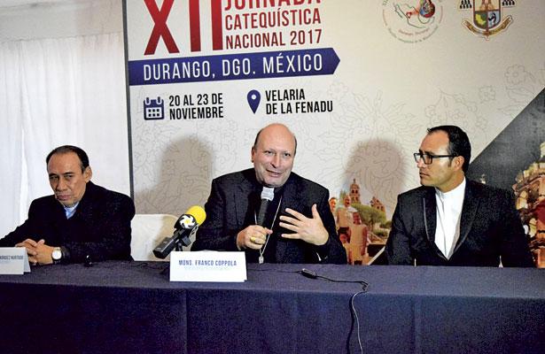 Con la unidad del Estado Mexicano y la Iglesia se podrá recomponer el tejido social: Franco Coppola