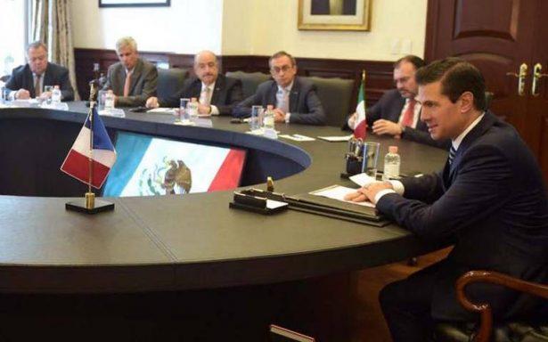Francia garantiza su apoyo para modernización del TLC México-UE