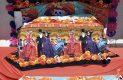 Gran colorido caracteriza a los altares de muertos montados en la Secretaría de Educación en el Estado de Durango.