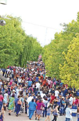 Registró 170 mil visitantes la primera semana de Feria