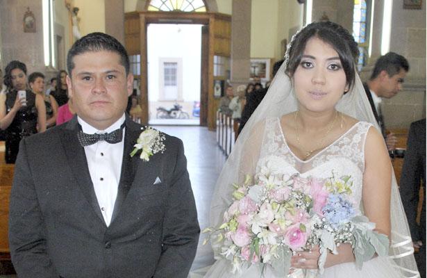 Misa de esponsales de María Guadalupe y Hugo Daniel