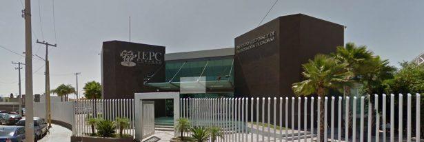 Presupuesto del IEPC, unsaqueo al estado: Palacios