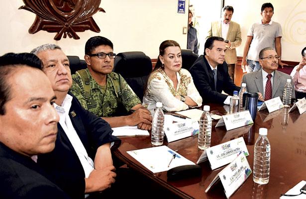 Encabeza LHA reunión del Consejo Ciudadano de Seguridad Pública