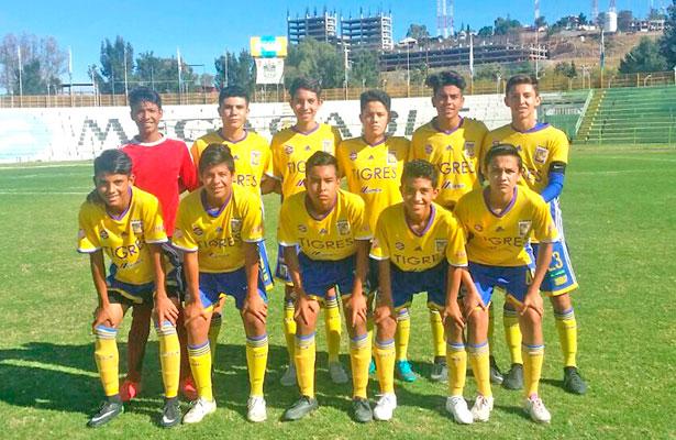 Sendas victorias de Academia Tigres Durango