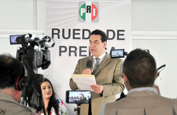 El PRI tendrá un candidato ciudadano: Benítez Ojeda