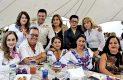 Múltiples felicitaciones recibió Rafael Varela Gutiérrez de sus amistades que se dieron cita para acompañarlo.