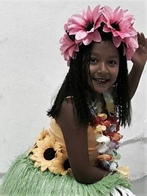 CUENCAMÉ, Dgo.- (OEM).- Posó para este matutino la pequeña Arenita Reyes González.