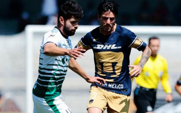 Pumas se despide de CU y rescata empate frente a Santos