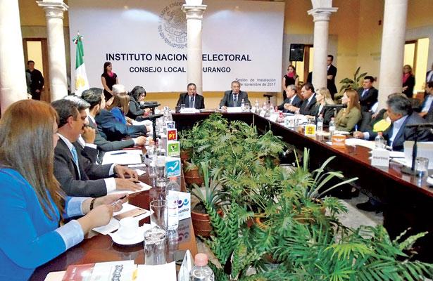 Arranca proceso electoral 2017-2018 en Durango