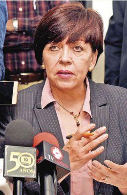 Propone Aispuro a Ruth Medina como fiscal General del Estado