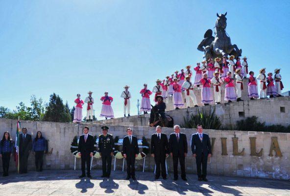 Conmemora Durango 107 años de la Revolución Mexicana