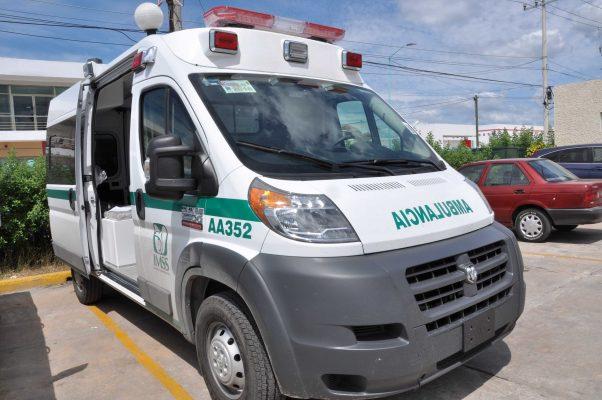 El IMSS y el ISSSTEcarecen de ambulancia