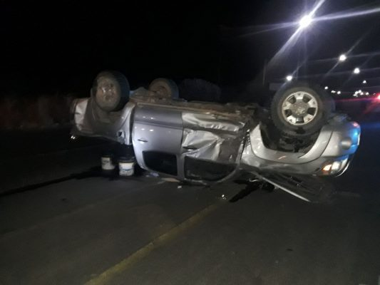 Brutal accidente en V. Guerrero