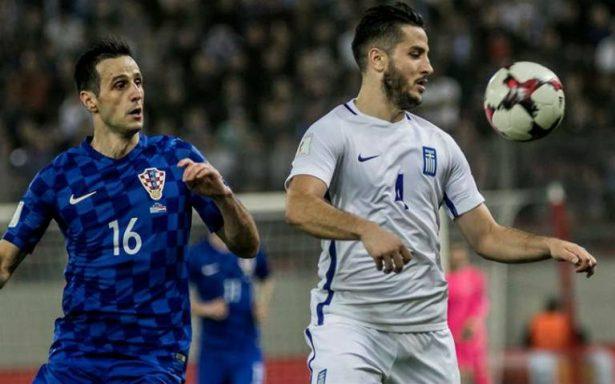 Croacia consigue el boleto 28 a Rusia tras empatar en Grecia
