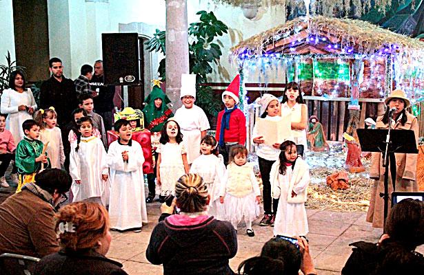 Clausuran Festival de pastorelas coros y música navideña