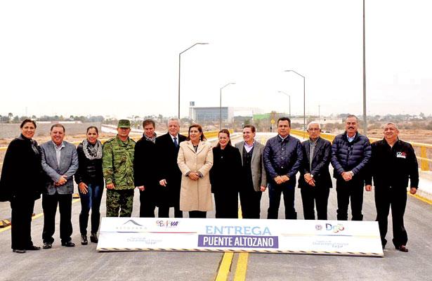 Inaugura JAT puente Altozano