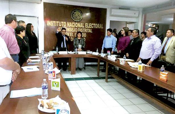 Quedó instalado el 02 Consejo Distrital del INE, en G.P.