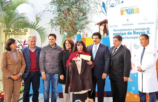 Entrega Municipio equipo de rayos X al Hospital del Niño