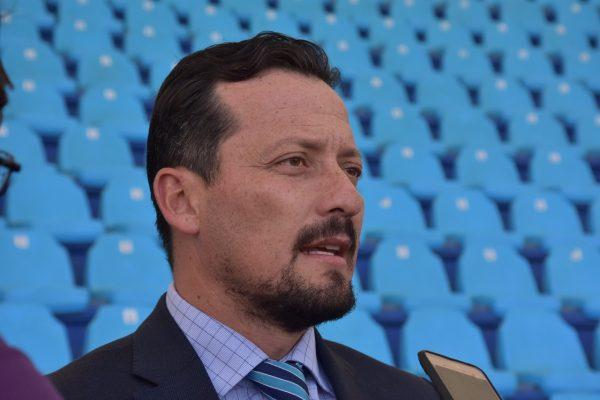 Javier Salinas, presidente de la Liga Mexicana de Beisbol.