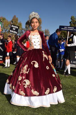 CANATLÁN, Dgo. (OEM).- La simpática Yuridia Belem Blanco Soto, reina de la escuela primaria Gral. Lázaro Cárdenas engalana este espacio social.