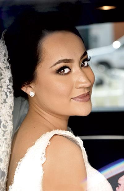 Muy guapa lució el día de su boda Ana Ilse Arreola Castro.
