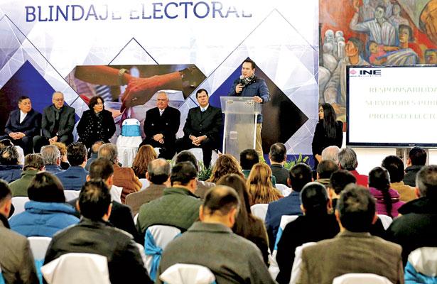 Garantiza gobierno estatal un proceso electoral en paz
