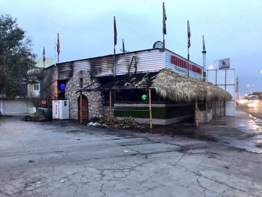 Un problema sentimental, la causa del incendio de los dos restaurantes: Enríquez