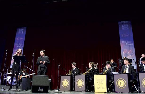 Klaus Mayer Big Band, con cierre de lujo