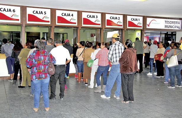 Se han recaudado83 mdp en pagosde contribuyentes:Díaz Medina