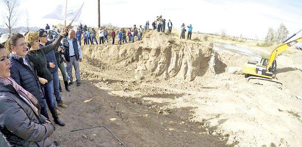 Inician construcción del puente San José de Gracia, en Canatlán