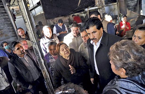 Gobierno delDr. Enríqueznos brindauna nuevaoportunidad:locataria delMercado