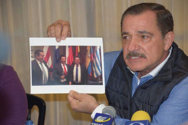 Rómulo Campuzano denuncia amenazas
