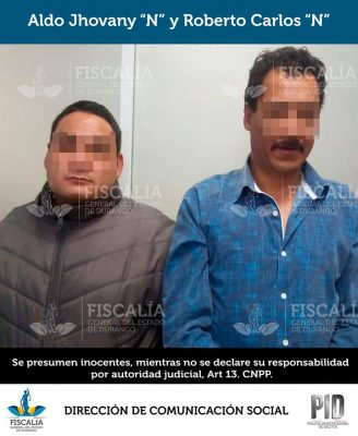 Caen presuntos involucrados en homicidio
