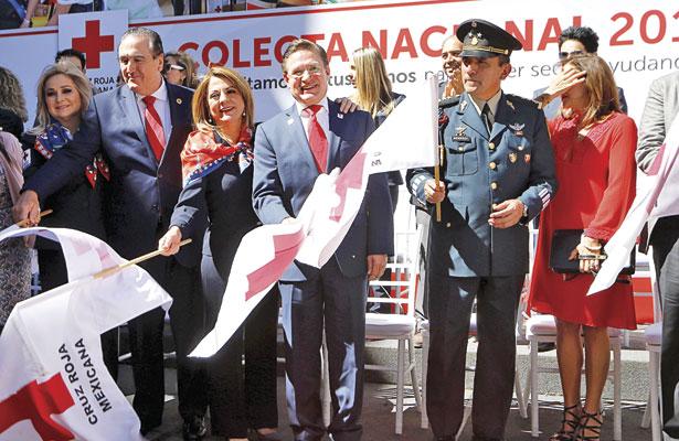 Proyecta Cruz Roja recaudar 10 mdp