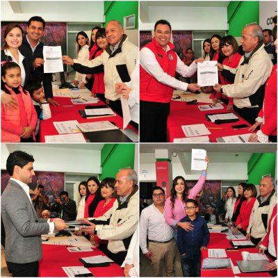 Se pre registran aspirantes a precandidatos a diputados locales del PRI