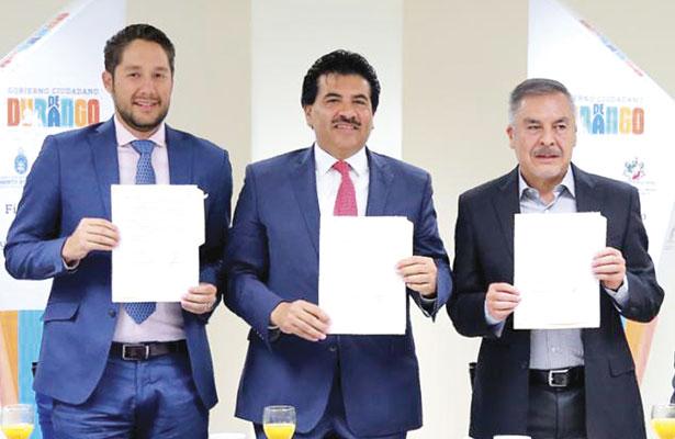 Firman convenio Municipio y hoteleros