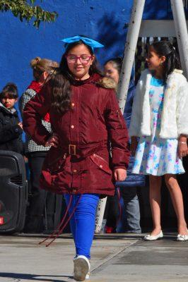 CANATLÁN, Dgo. (OEM).- Ingrid Reyes Valenzuela, simpática alumna y candidata a reina de la Escuela Gral. Lázaro Cárdenas.
