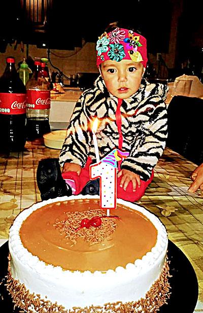 SANTIAGO PAPASQUIARO, Dgo. (OEM).- La encantadora Alexia Ortega Márquez cumplió su primer año de vida.
